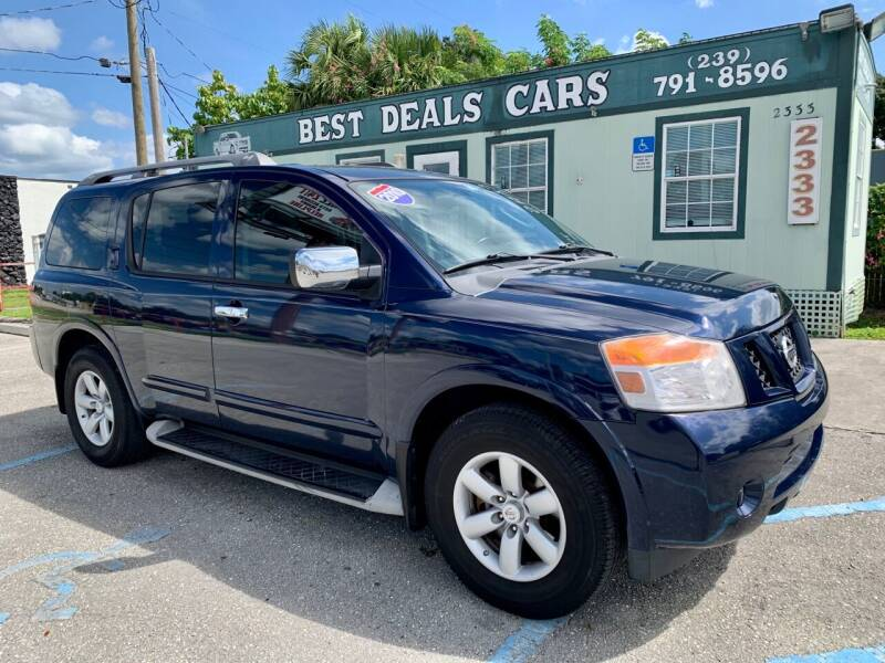 2010 Nissan Armada for sale at Best Deals Cars Inc in Fort Myers FL