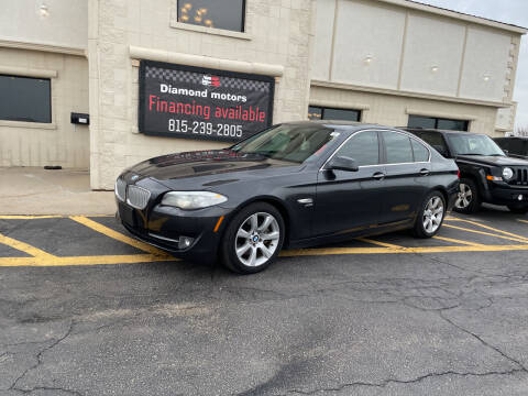 2011 BMW 5 Series for sale at Diamond Motors in Pecatonica IL