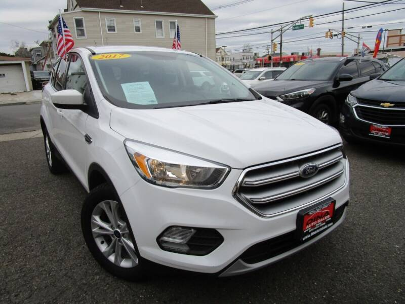2017 Ford Escape for sale at Dina Auto Sales in Paterson NJ