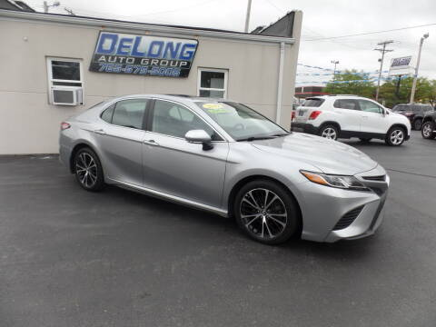 2019 Toyota Camry for sale at DeLong Auto Group in Tipton IN