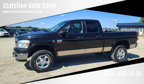 2008 Dodge Ram Pickup 2500 for sale at Stateline Auto Sales in Mabel MN