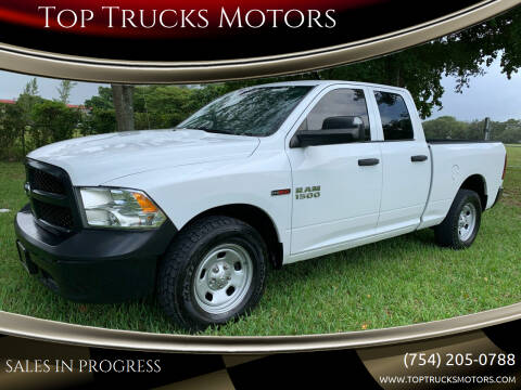 2015 RAM Ram Pickup 1500 for sale at Top Trucks Motors in Pompano Beach FL