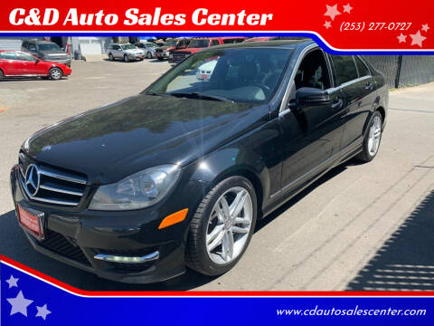 2014 Mercedes-Benz C-Class for sale at C&D Auto Sales Center in Kent WA