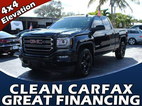 2018 GMC Sierra 1500 for sale at Palm Beach Auto Wholesale in Lake Park FL