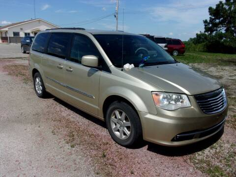 2011 Chrysler Town and Country for sale at CHUCK ROGERS AUTO LLC in Tekamah NE