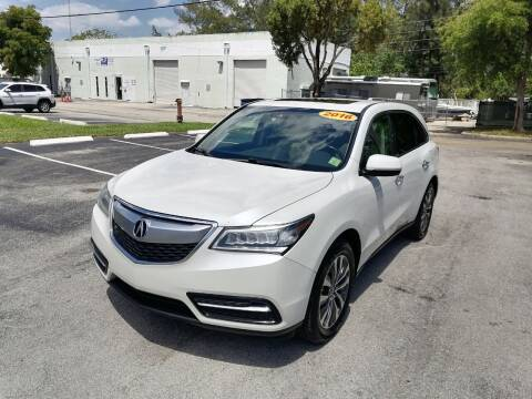 2016 Acura MDX for sale at Best Price Car Dealer in Hallandale Beach FL