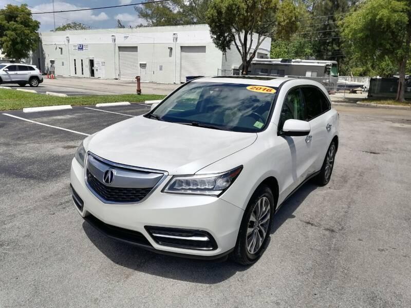 2016 Acura MDX for sale at Best Price Car Dealer in Hallandale Beach FL