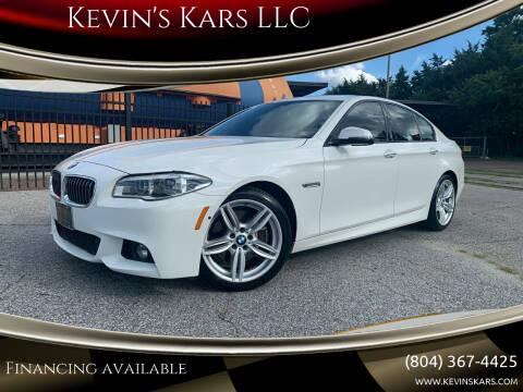 2014 BMW 5 Series for sale at Kevin's Kars LLC in Richmond VA