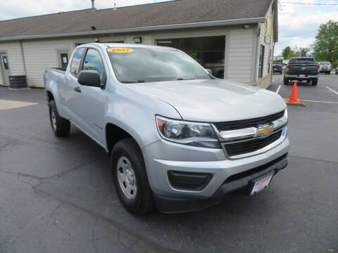 2017 Chevrolet Colorado for sale at Tri-County Pre-Owned Superstore in Reynoldsburg OH
