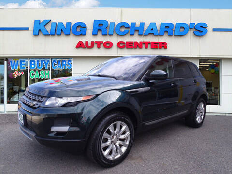 2014 Land Rover Range Rover Evoque for sale at KING RICHARDS AUTO CENTER in East Providence RI