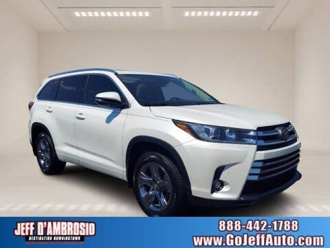 2019 Toyota Highlander for sale at Jeff D'Ambrosio Auto Group in Downingtown PA