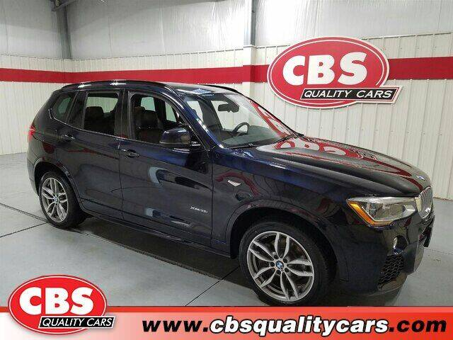 2017 BMW X3 for sale at CBS Quality Cars in Durham NC