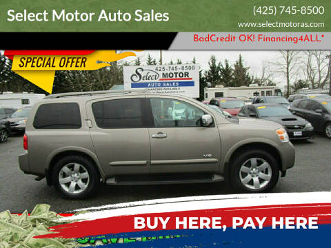 2008 Nissan Armada for sale at Select Motor Auto Sales in Lynnwood WA