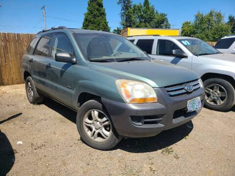 2007 Kia Sportage for sale at Universal Auto Sales in Salem OR