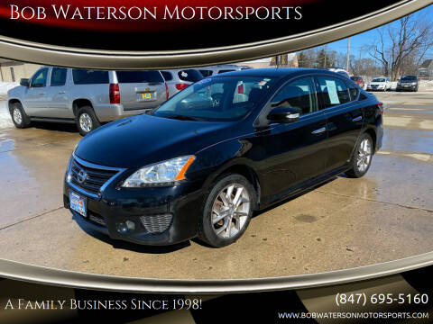 2015 Nissan Sentra for sale at Bob Waterson Motorsports in South Elgin IL