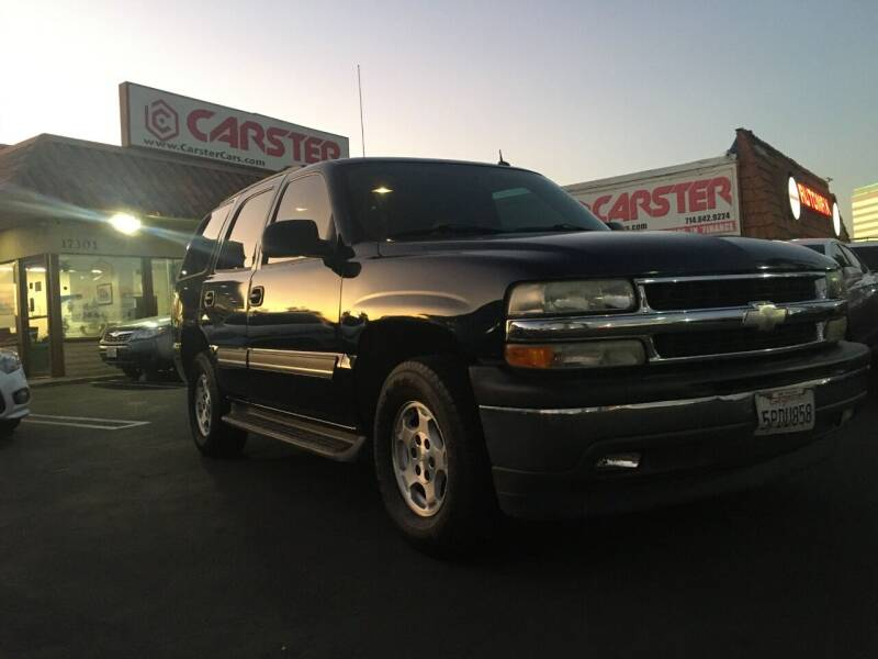 2005 Chevrolet Tahoe for sale at CARSTER in Huntington Beach CA