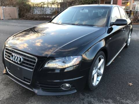 2012 Audi A4 for sale at MAGIC AUTO SALES in Little Ferry NJ