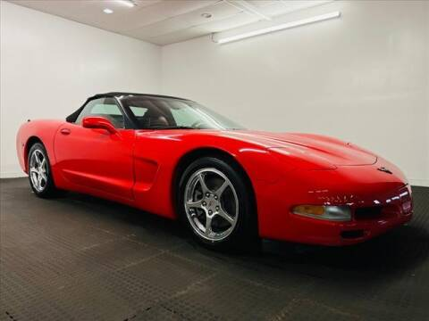 2004 Chevrolet Corvette for sale at Champagne Motor Car Company in Willimantic CT