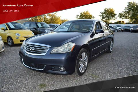 2008 Infiniti M35 for sale at American Auto Center in Austin TX