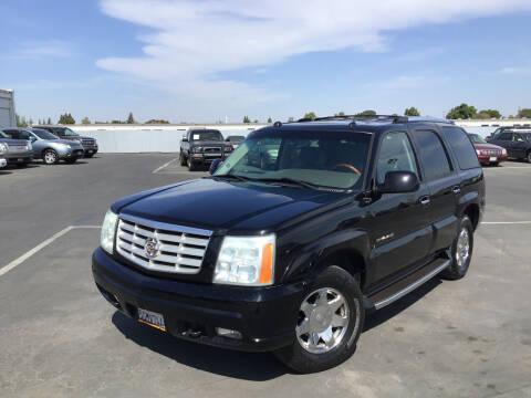 2004 Cadillac Escalade for sale at My Three Sons Auto Sales in Sacramento CA