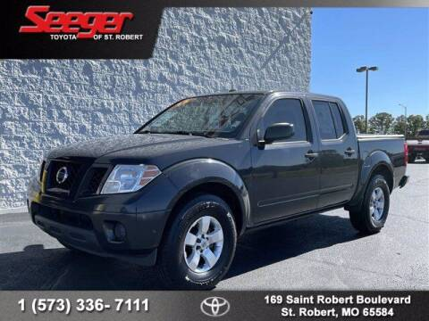 2013 Nissan Frontier for sale at SEEGER TOYOTA OF ST ROBERT in Saint Robert MO