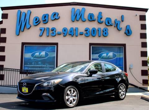 2014 Mazda MAZDA3 for sale at MEGA MOTORS in South Houston TX