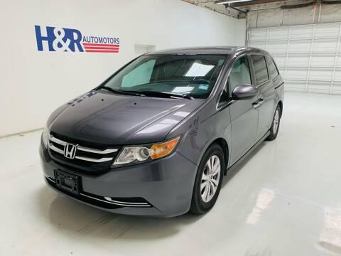 2016 Honda Odyssey for sale at H&R Auto Motors in San Antonio TX