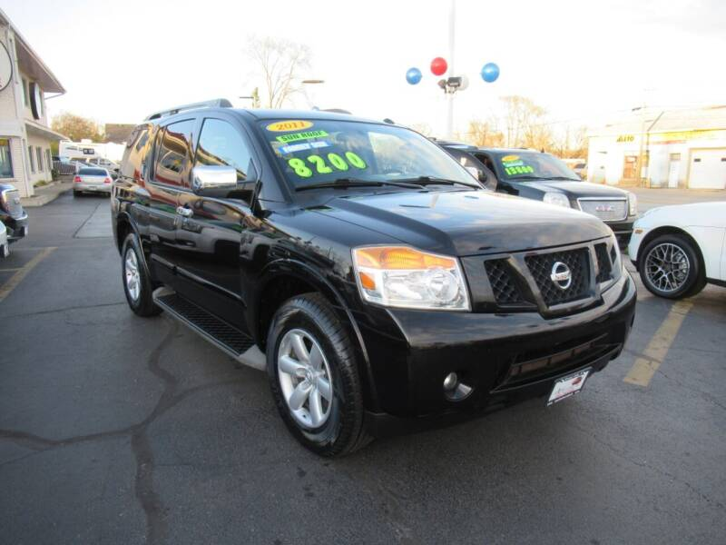 2011 Nissan Armada for sale at Auto Land Inc in Crest Hill IL