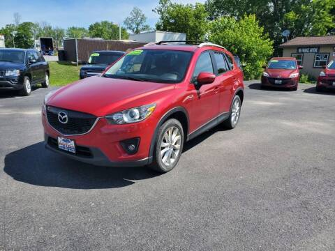 2015 Mazda CX-5 for sale at Excellent Autos in Amsterdam NY