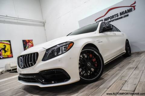 2021 Mercedes-Benz C-Class for sale at AUTO IMPORTS MIAMI in Fort Lauderdale FL