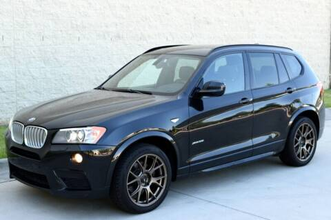 2012 BMW X3 for sale at Raleigh Auto Inc. in Raleigh NC