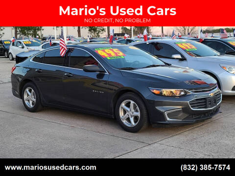 2017 Chevrolet Malibu for sale at Mario's Used Cars in Houston TX