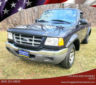 2003 Ford Ranger for sale at Chicagoland Internet Auto - 410 N Vine St New Lenox IL, 60451 in New Lenox IL