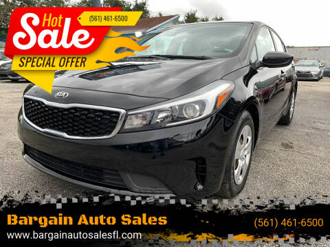 2017 Kia Forte for sale at Bargain Auto Sales in West Palm Beach FL