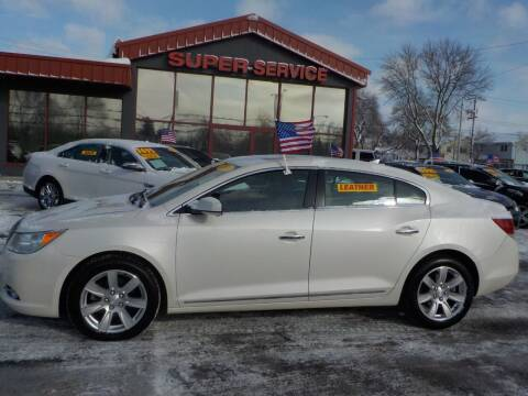 2013 Buick LaCrosse for sale at Super Service Used Cars in Milwaukee WI
