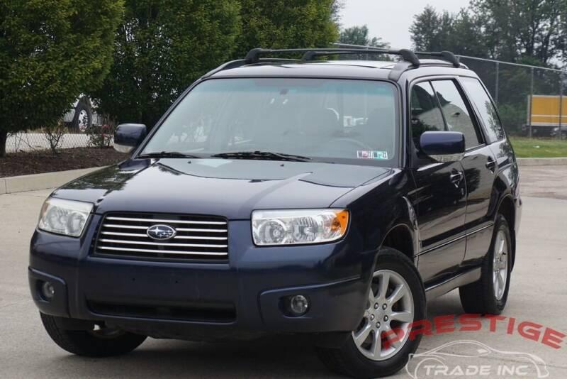 2006 Subaru Forester for sale at Prestige Trade Inc in Philadelphia PA