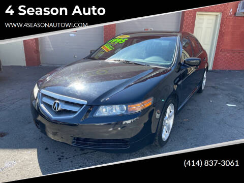 2006 Acura TL for sale at 4 Season Auto in Milwaukee WI