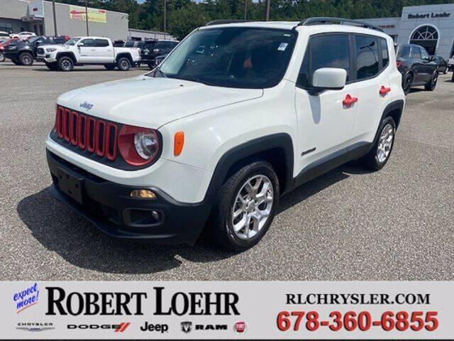 2015 Jeep Renegade for sale at Robert Loehr Chrysler Dodge Jeep Ram in Cartersville GA