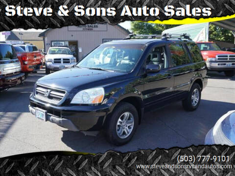 2005 Honda Pilot for sale at Steve & Sons Auto Sales in Happy Valley OR