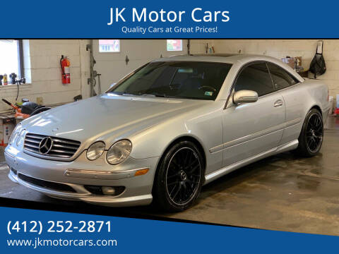 2001 Mercedes-Benz CL-Class for sale at JK Motor Cars in Pittsburgh PA