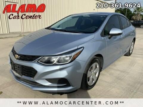 2017 Chevrolet Cruze for sale at Alamo Car Center in San Antonio TX