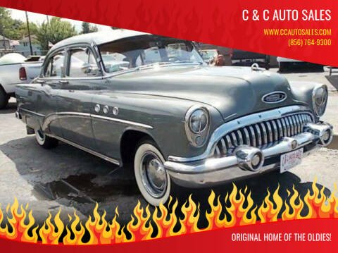 1953 Buick 40 Special for sale at C & C AUTO SALES in Riverside NJ