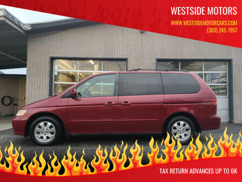 2004 Honda Odyssey for sale at Westside Motors in Mount Vernon WA