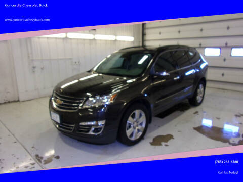 2015 Chevrolet Traverse for sale at Concordia Chevrolet Buick in Concordia KS