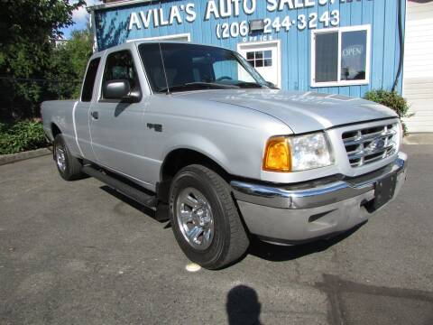 2002 Ford Ranger for sale at Avilas Auto Sales Inc in Burien WA