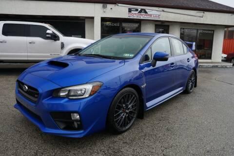 2016 Subaru WRX for sale at PA Motorcars in Conshohocken PA
