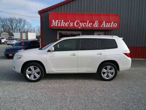 2009 Toyota Highlander for sale at MIKE'S CYCLE & AUTO - Mikes Cycle and Auto (Liberty) in Liberty IN