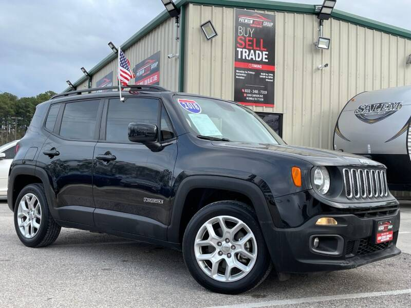 2018 Jeep Renegade for sale at Premium Auto Group in Humble TX