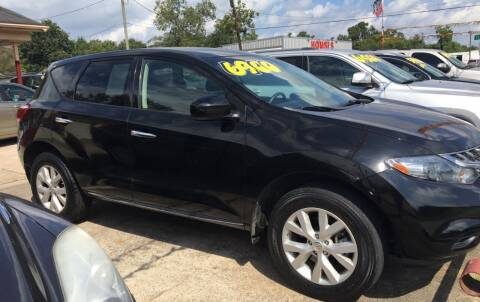 2011 Nissan Murano for sale at Bobby Lafleur Auto Sales in Lake Charles LA
