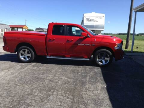 2012 RAM Ram Pickup 1500 for sale at Kevin's Motor Sales in Montpelier OH